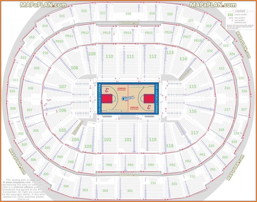 Sap Center Concert Seating Map
