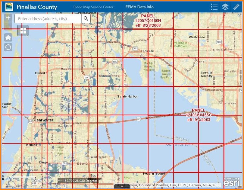 Sarasota County Flood Map Revision