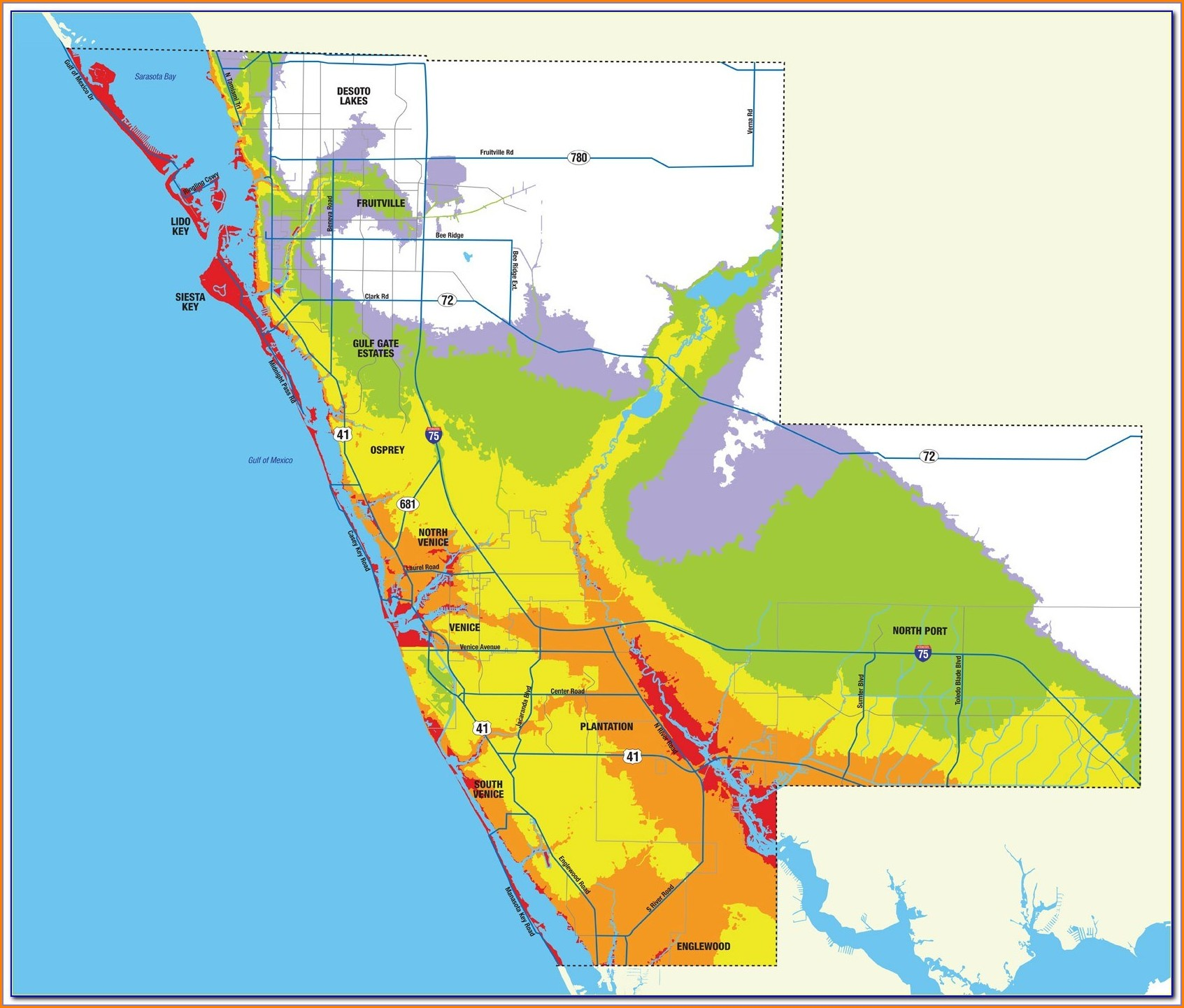 Sarasota County Flood Zone Map