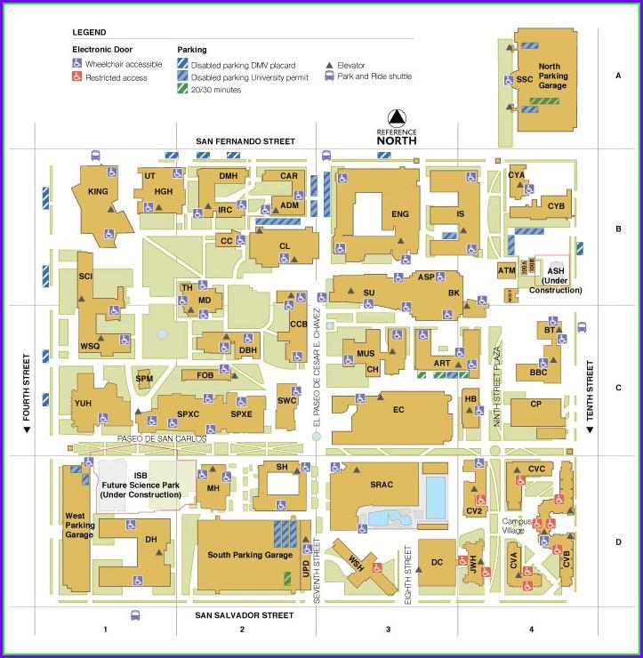 Scsu Campus Map Pdf