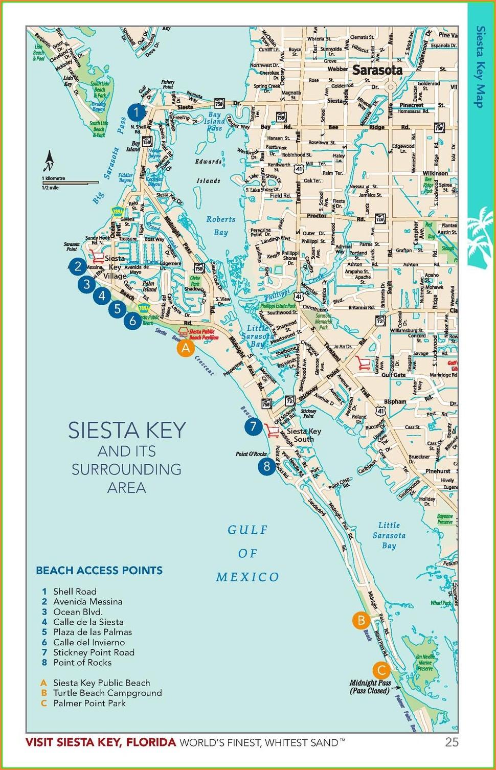 Shopping Siesta Key Village Map