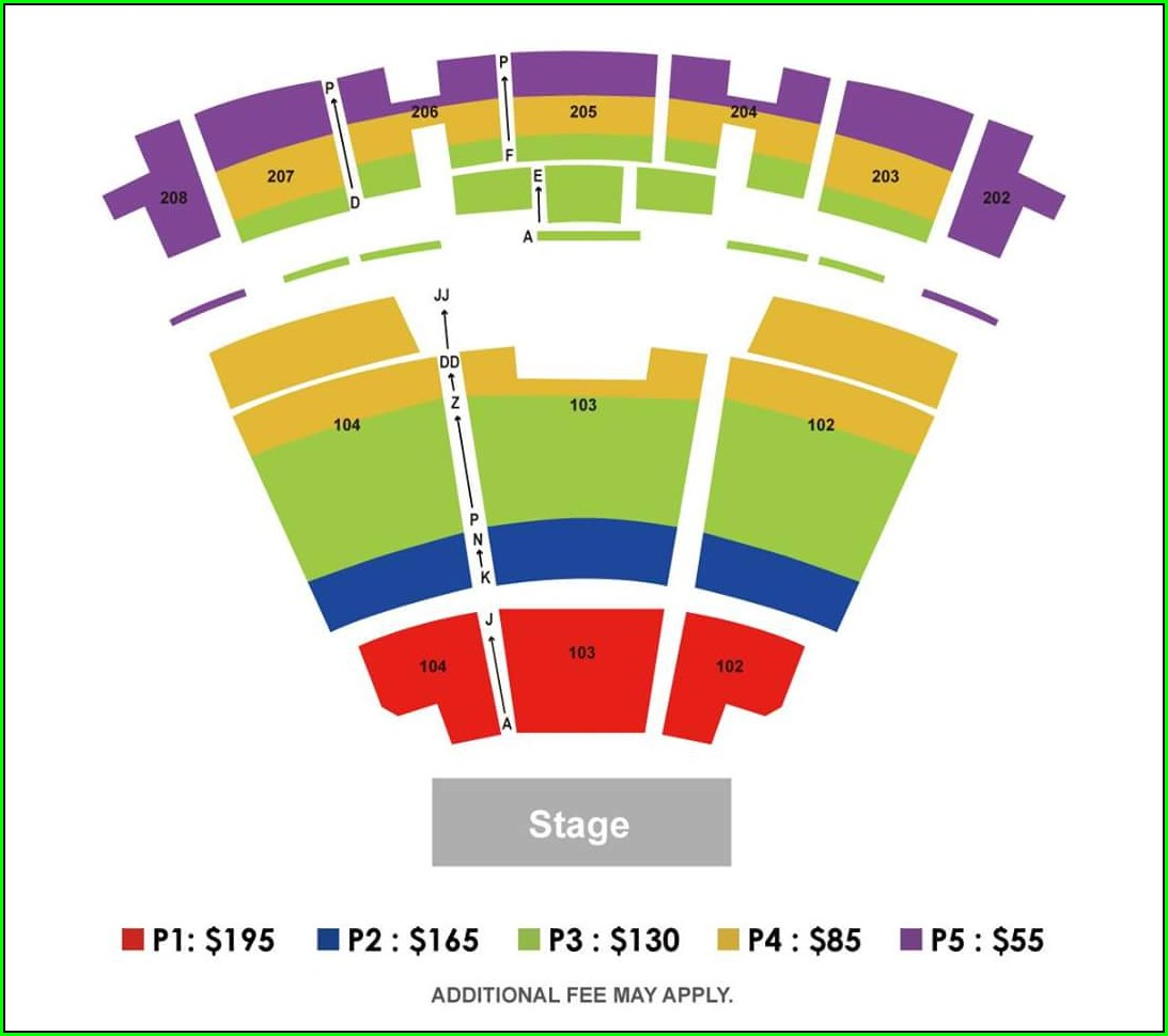 Smart Financial Center Seat Map