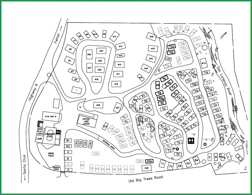 Smithwoods Rv Park Map