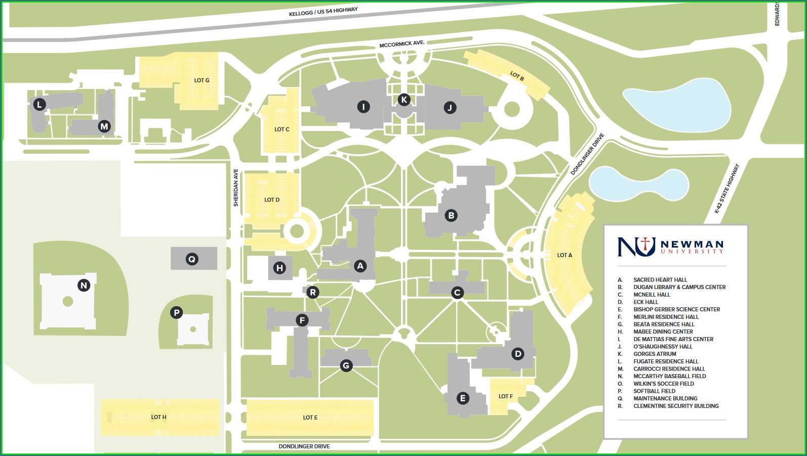 St Edward's University Map