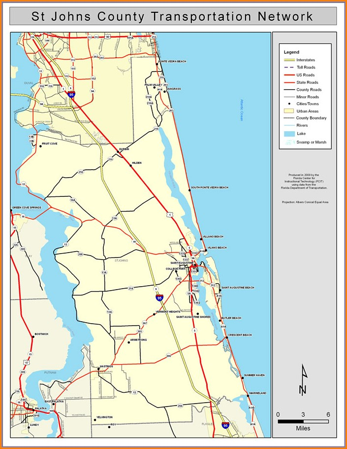 St Johns County Gis Map