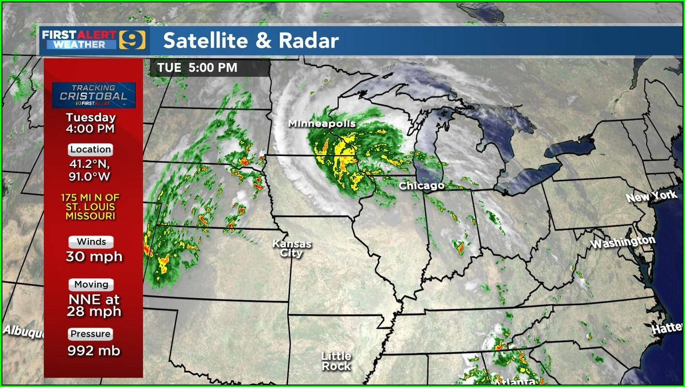 St Louis Radar Map