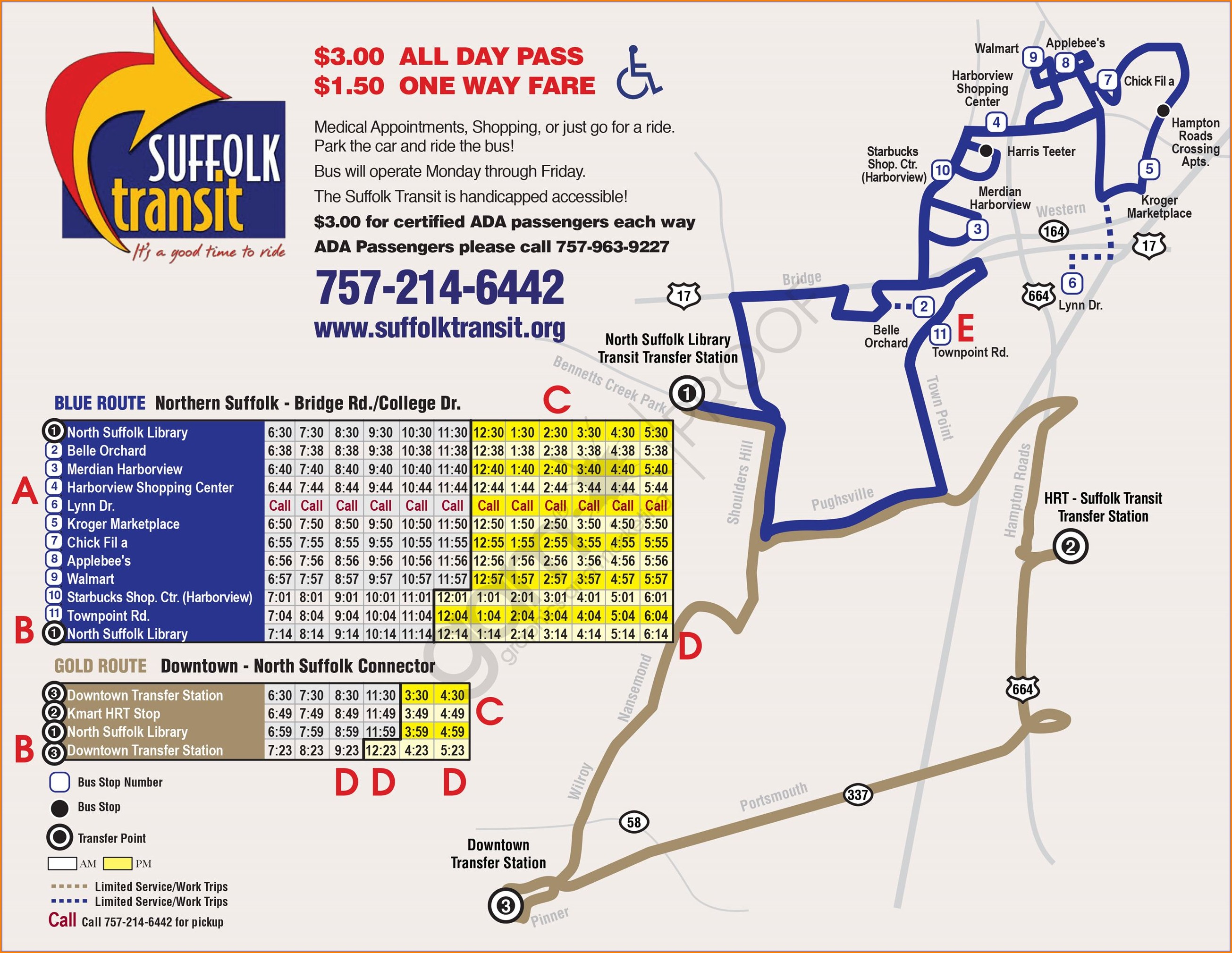 Suffolk Bus Routes Map