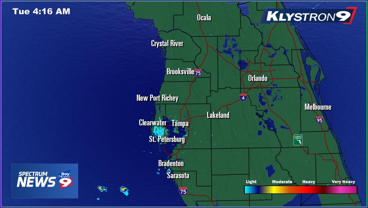 Tampa Weather Map In Motion