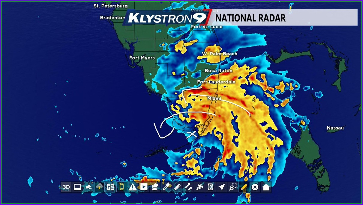 Tampa Weather Map Klystron