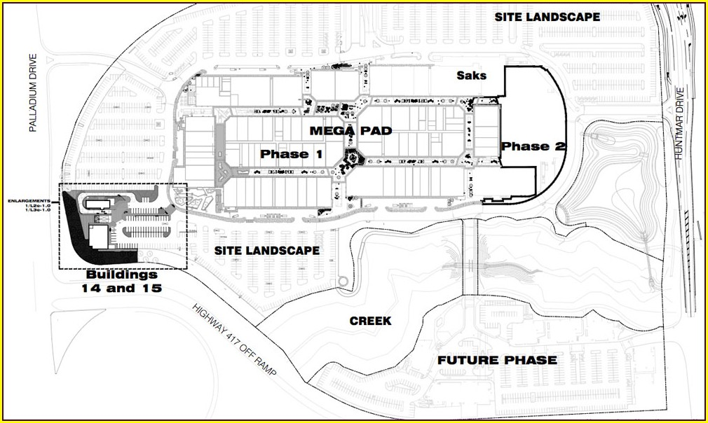 Tanger Mall Map Kanata