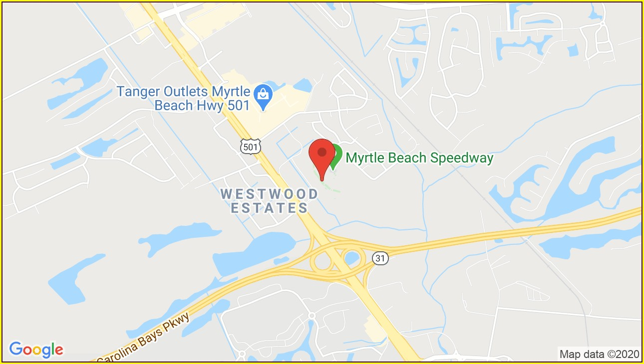 Tanger Outlets Myrtle Beach Map