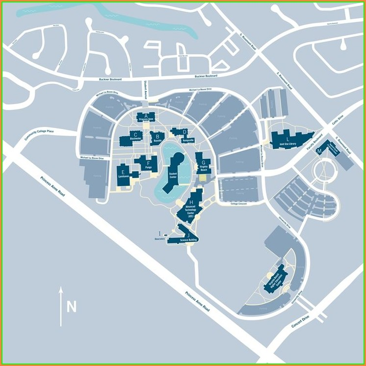 Tcc Virginia Beach Campus Map