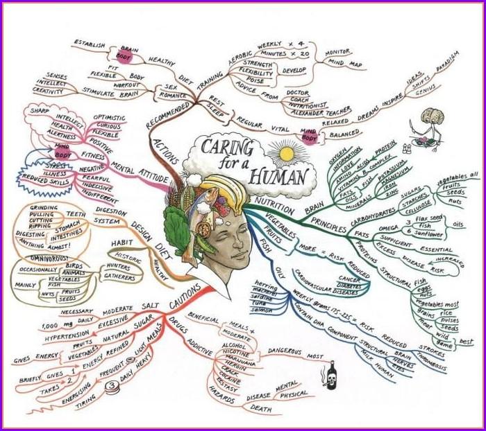 Tony Buzan Mind Map