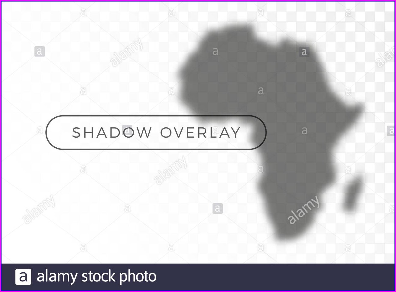 Transparent Background World Map Grey