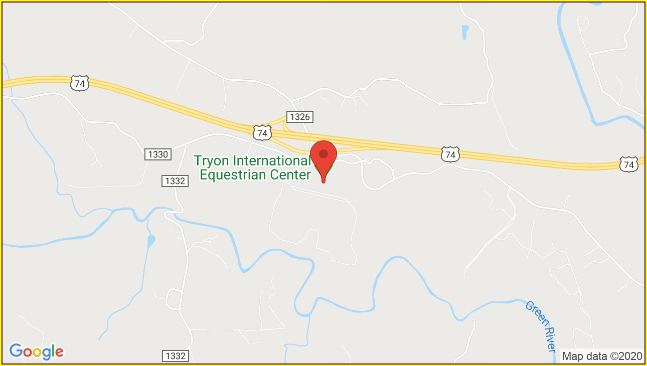 Tryon Equestrian Center Map