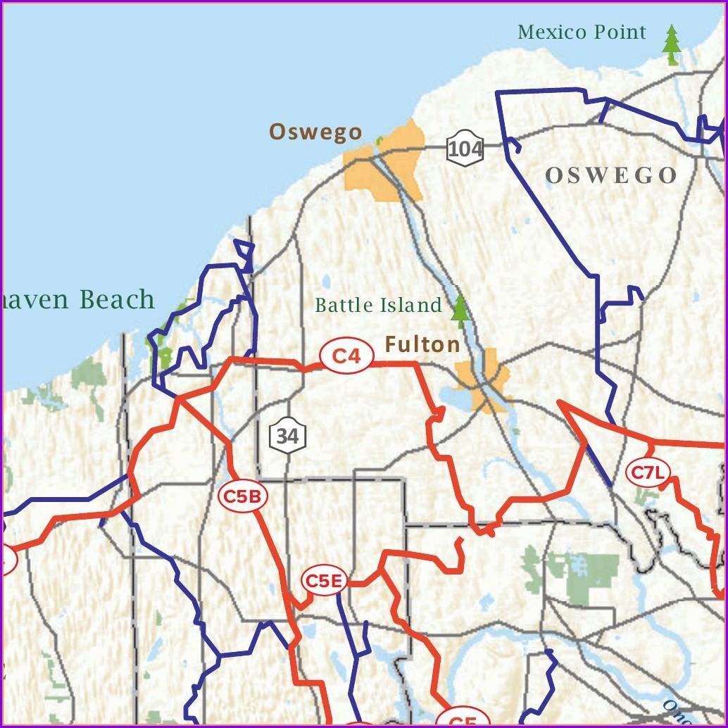 Tug Hill Snowmobile Trail Map