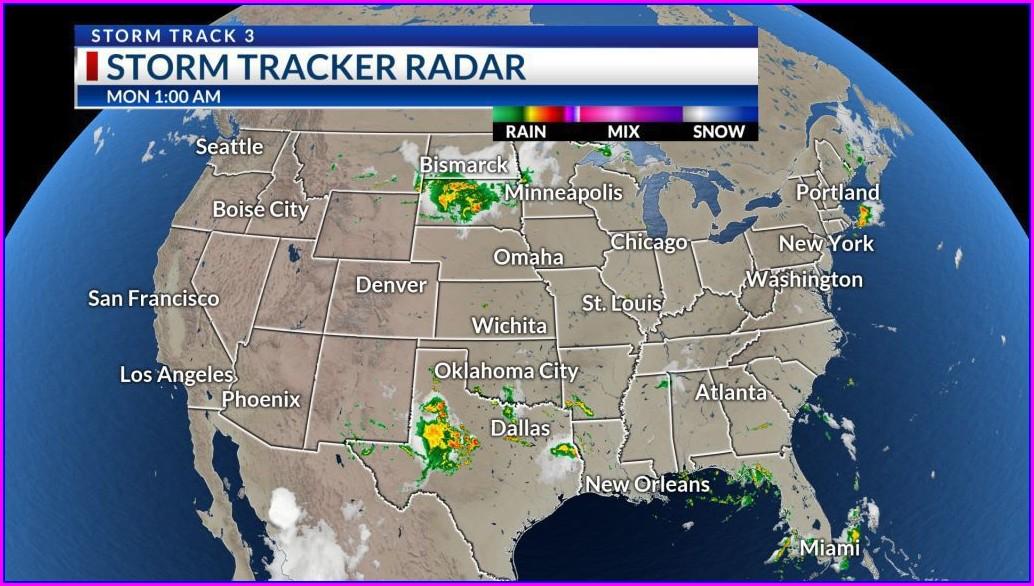 Us Satellite Weather Map Live