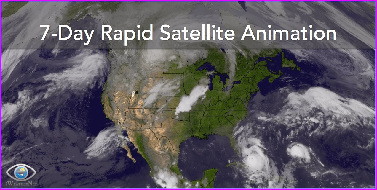 Us Satellite Weather Map Loop