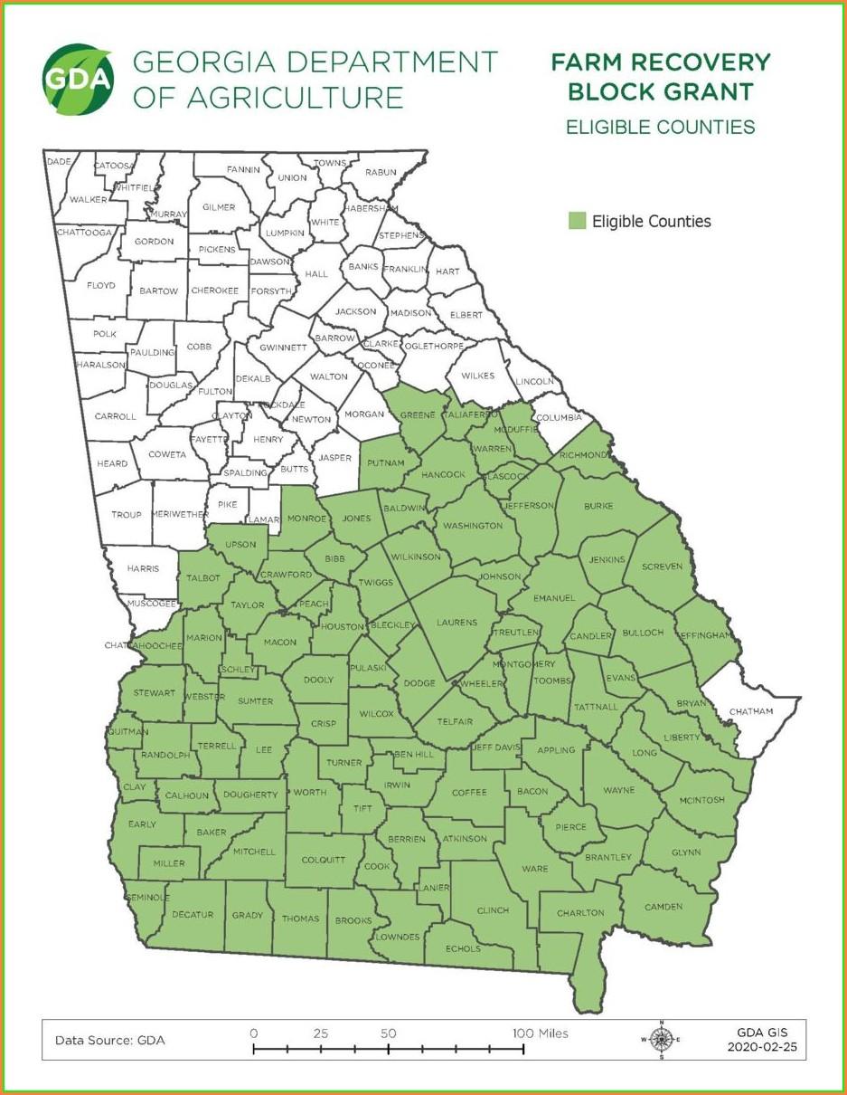 Usda Eligibility Map Ga