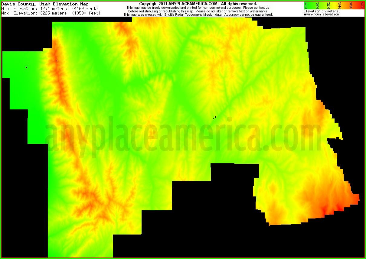 Utah Topo Maps Free