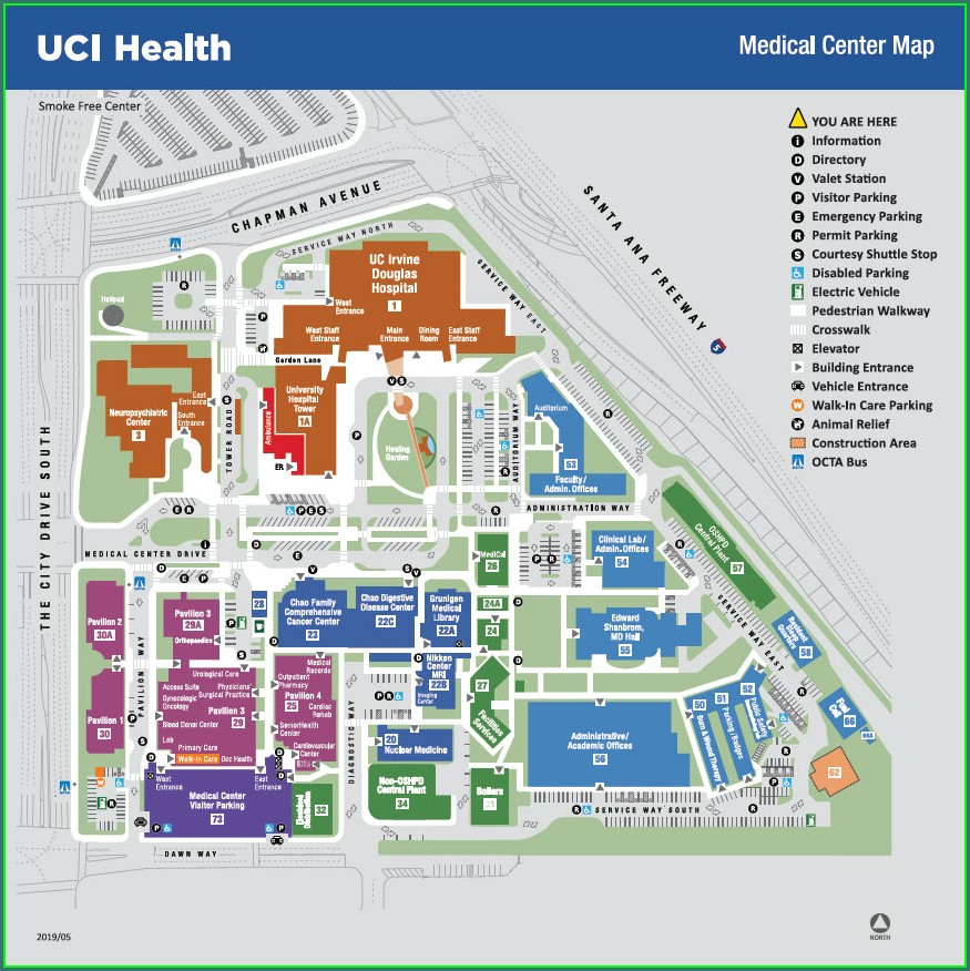 Uva Hospital Floor Map