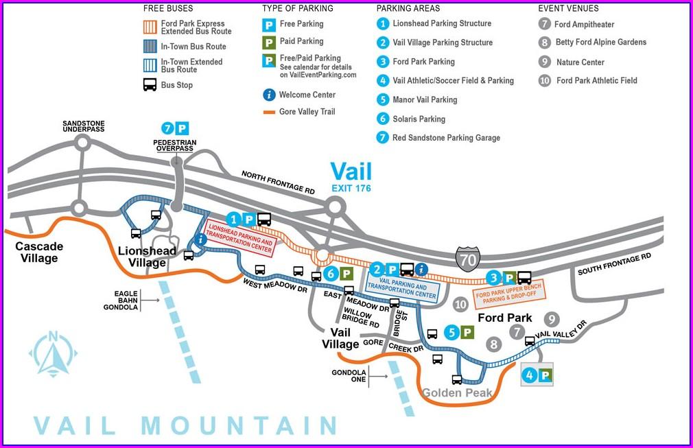 Vail Bus Map Pdf