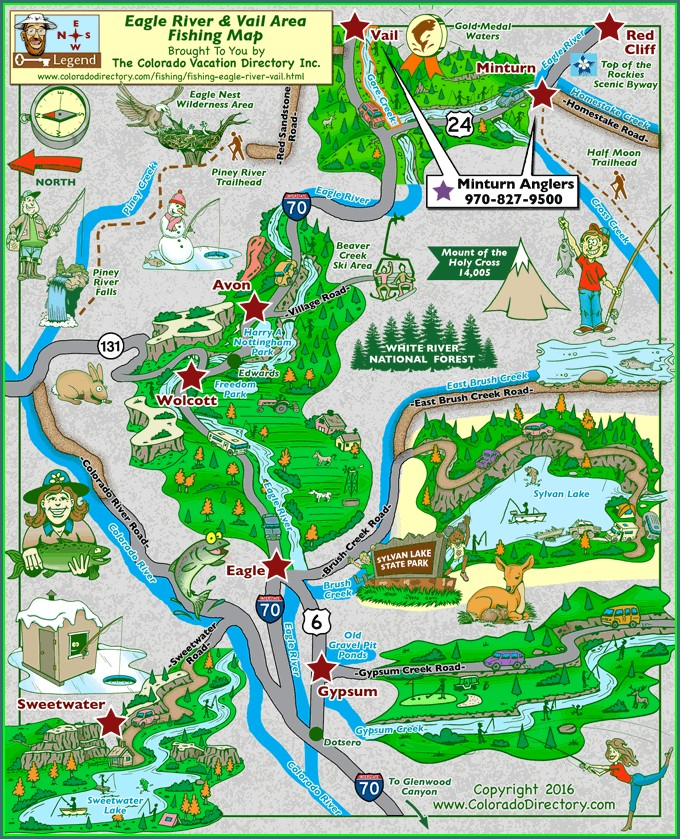 Vail Lake Campground Map