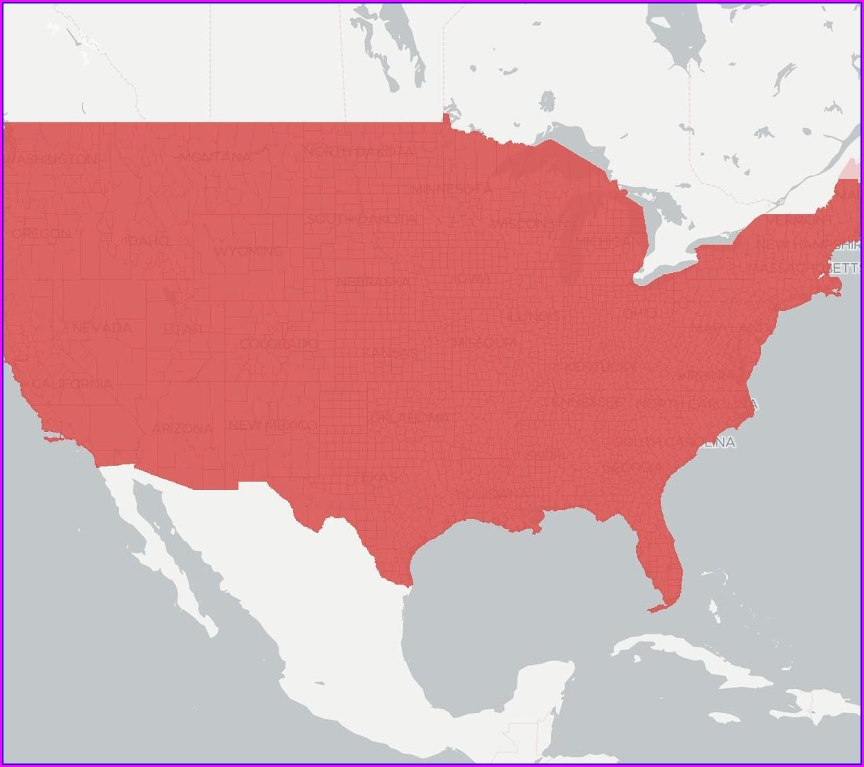 Viasat Ka Coverage Map