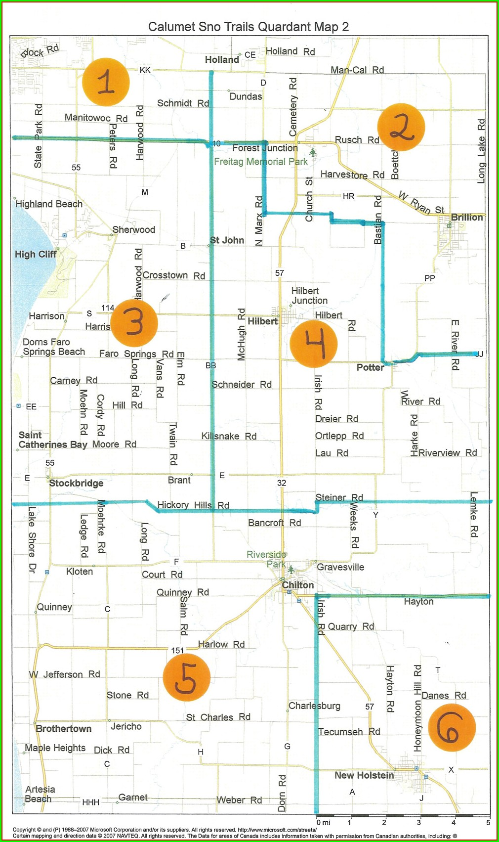 Vilas County Snowmobile Trail Map Pdf