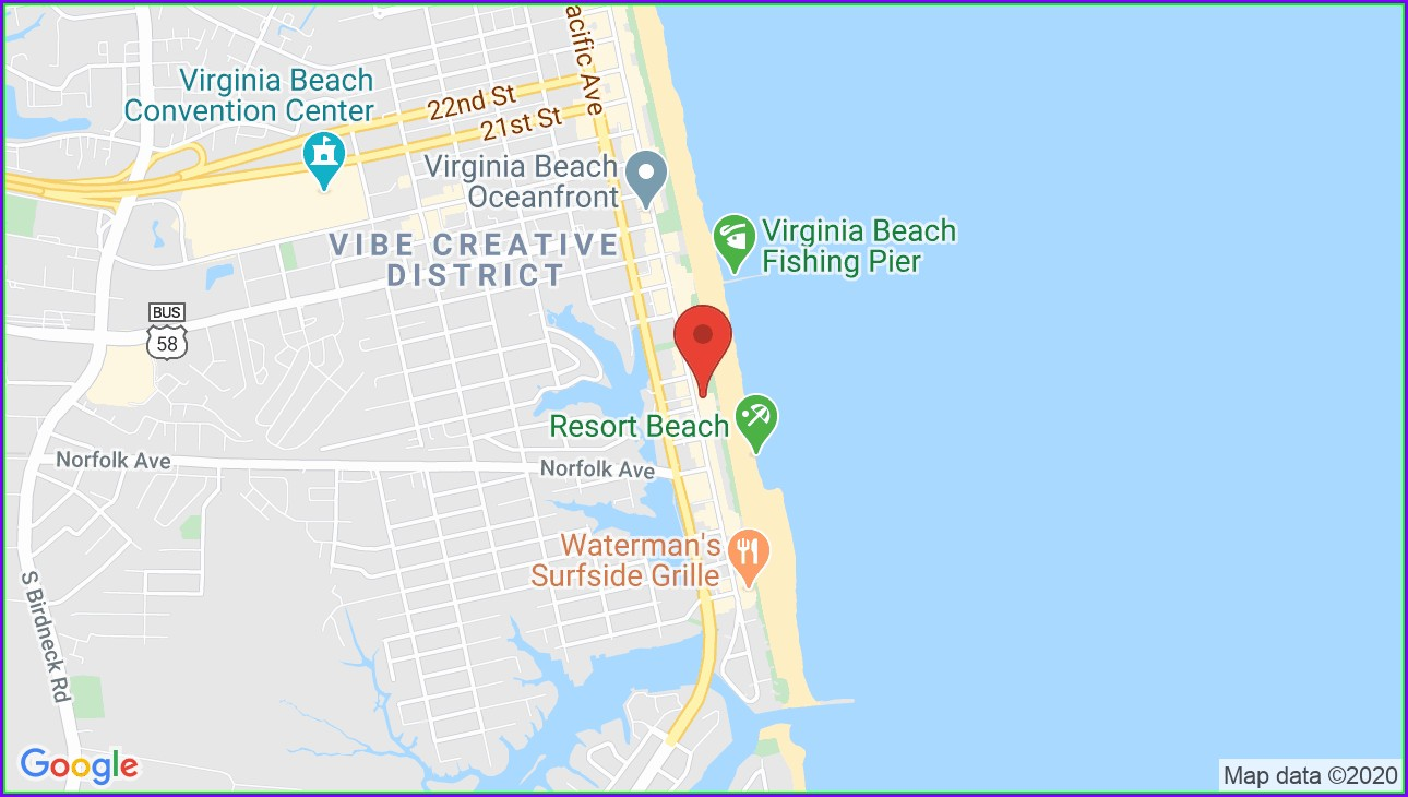 Virginia Beach Va Map