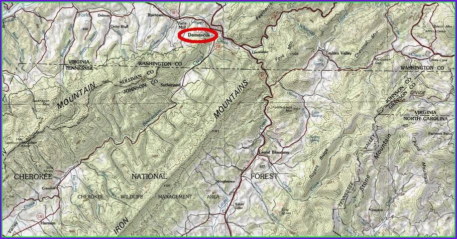 Virginia Creeper Trail Map Pdf