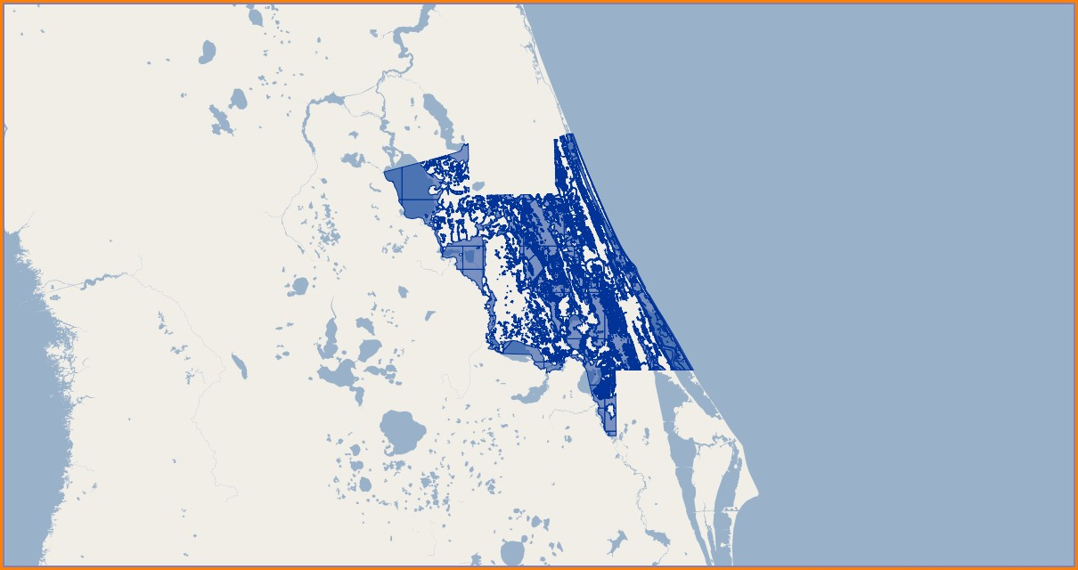Volusia County Flood Map