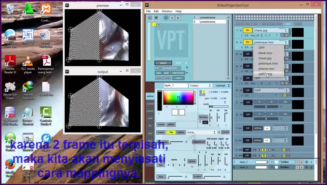 Vpt Projection Mapping Tutorial