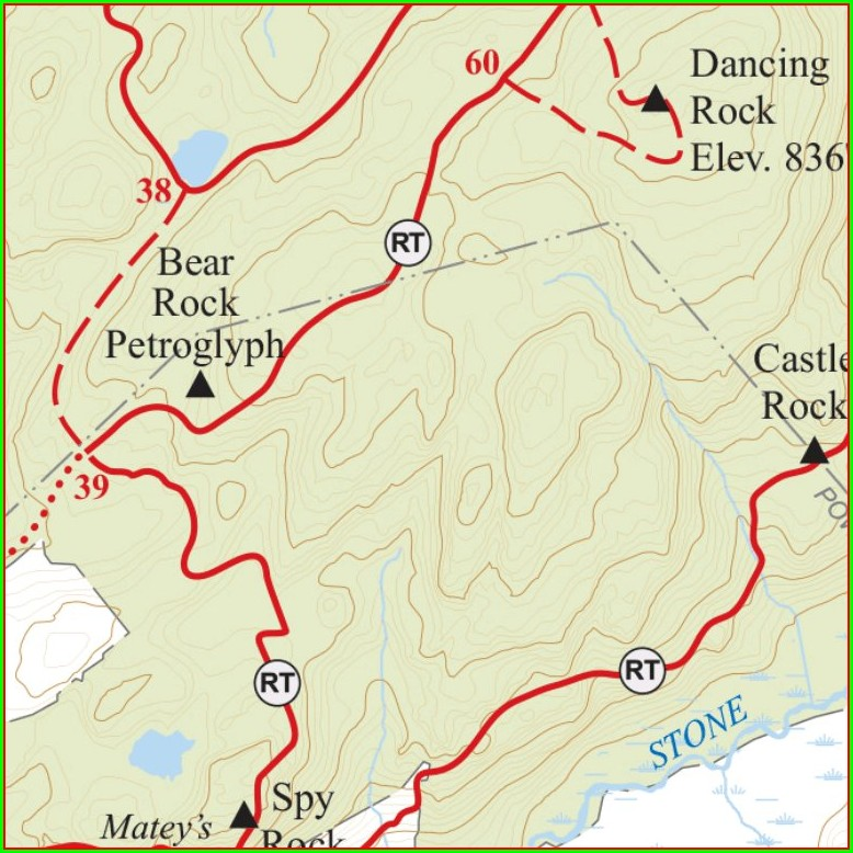Ward Pound Ridge Trail Map