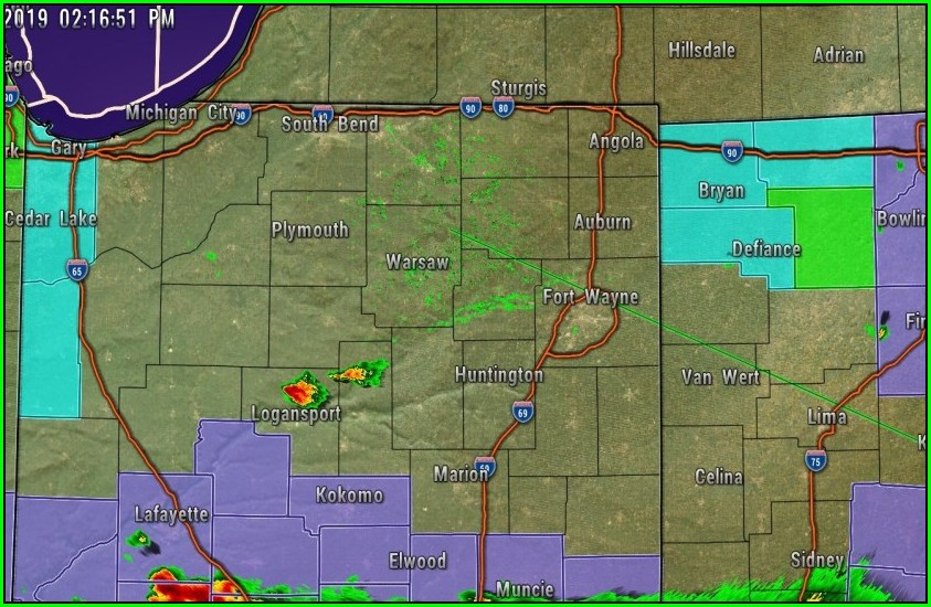 Weather Map Fort Wayne Indiana