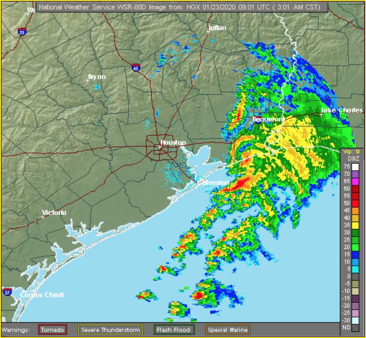 Weather Map Galveston Tx