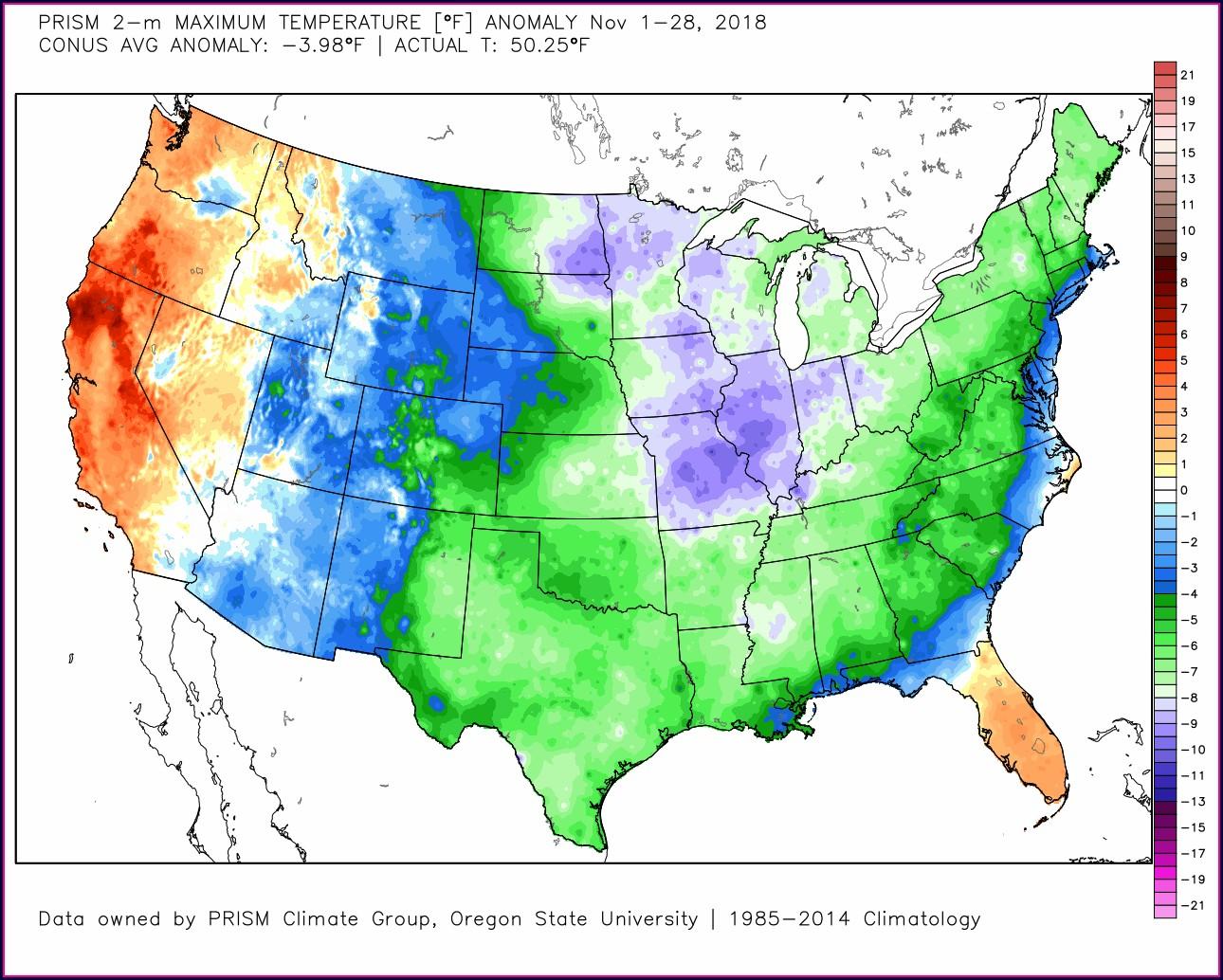 Weather Map Northwest Usa