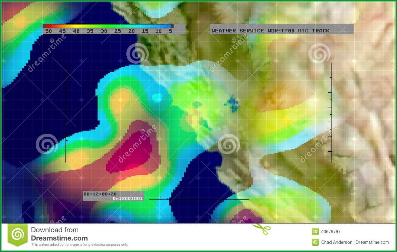 Weather Radar Map California