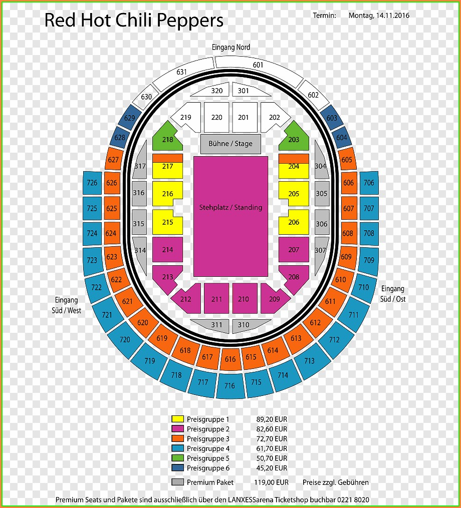 Wells Fargo Center Seat Map