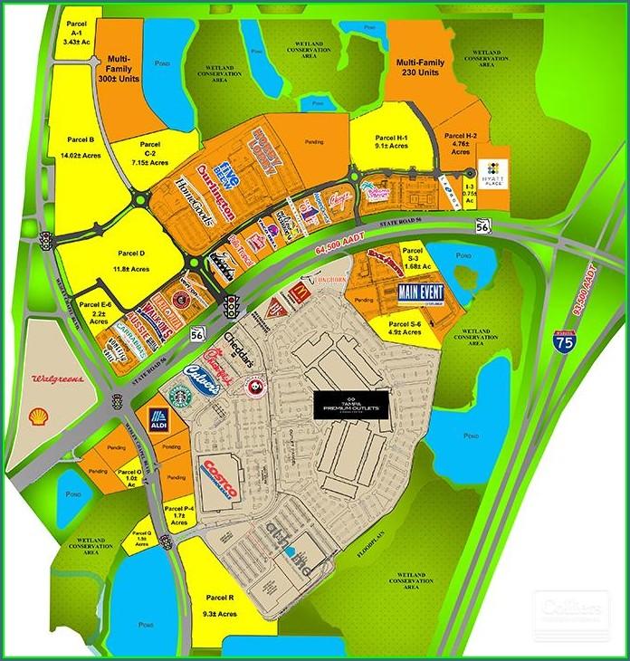Wesley Chapel Development Map