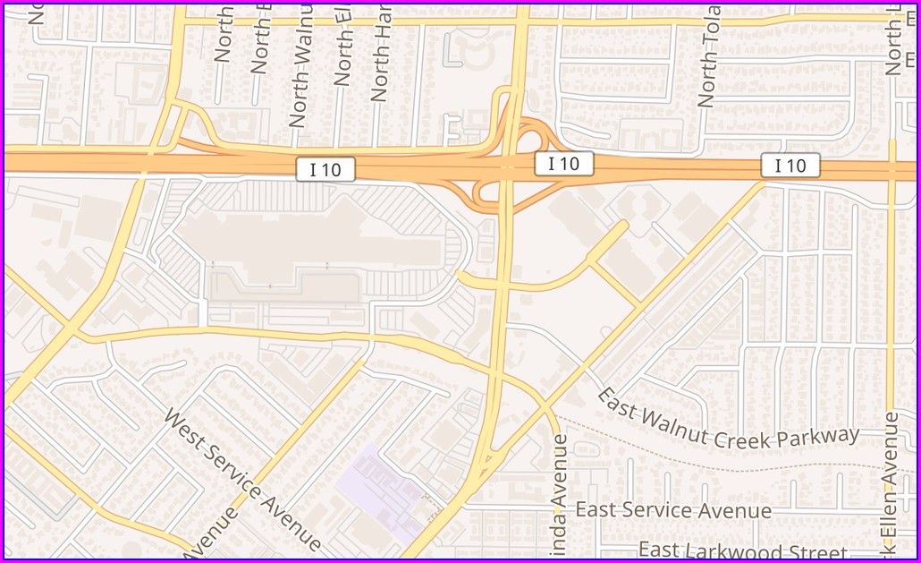 West Covina Mall Map