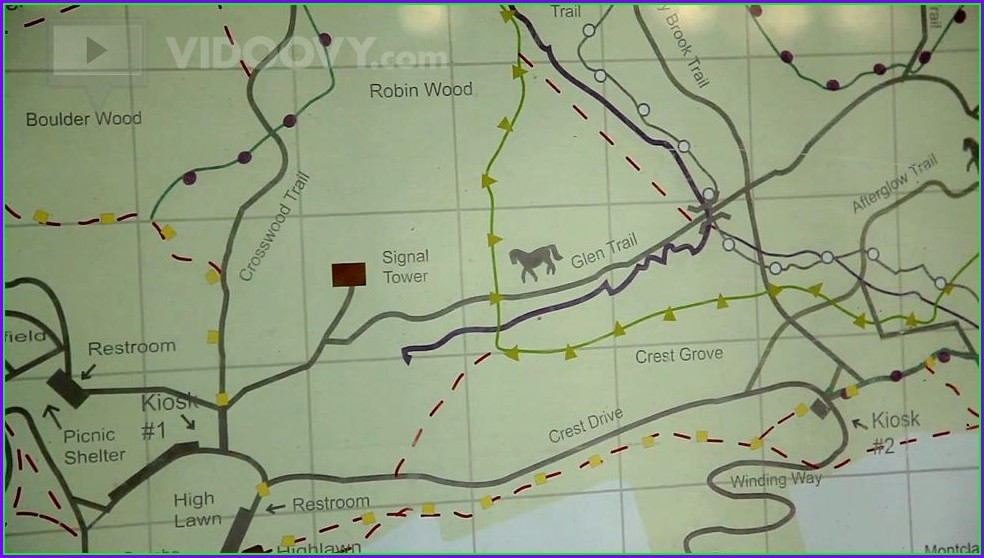 West Orange Trail Map