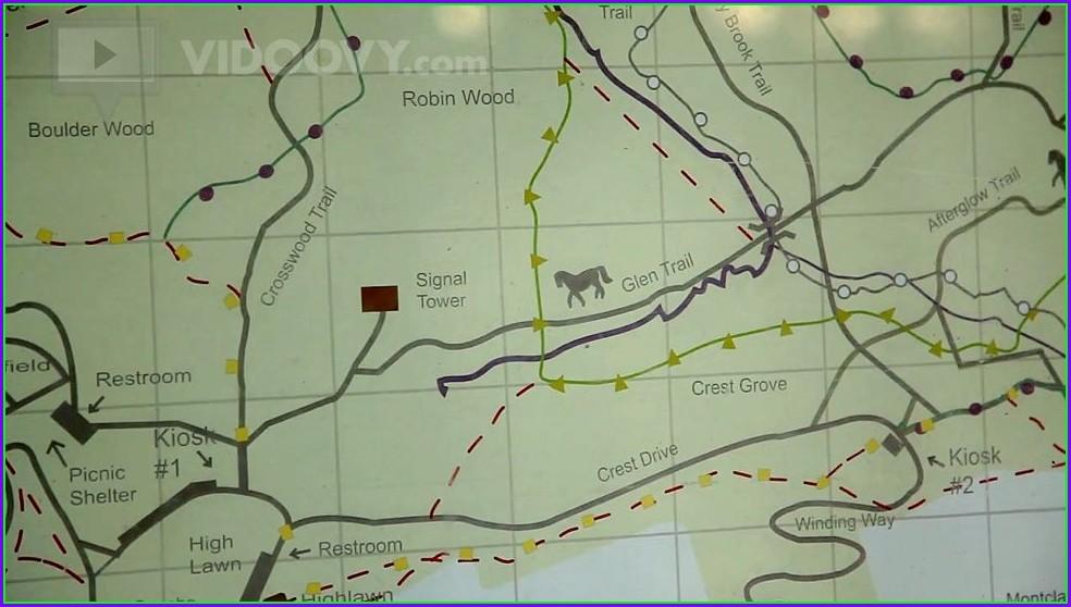West Orange Trail Map