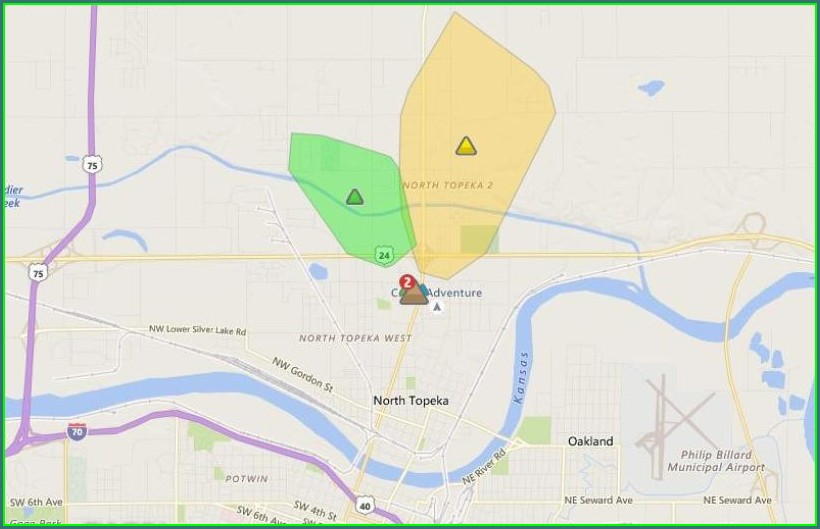 Westar Energy Power Outage Map