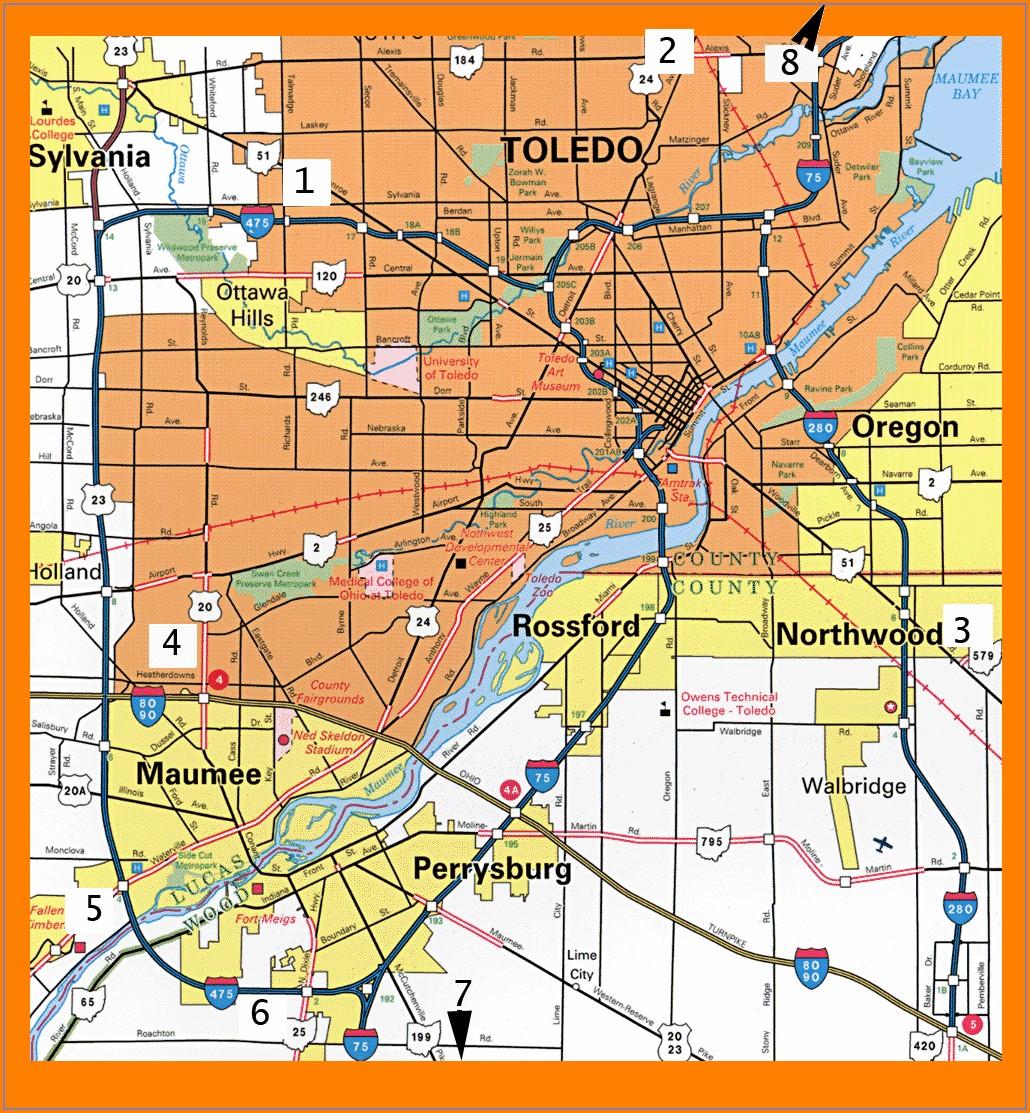 Westfield Mall Toledo Map