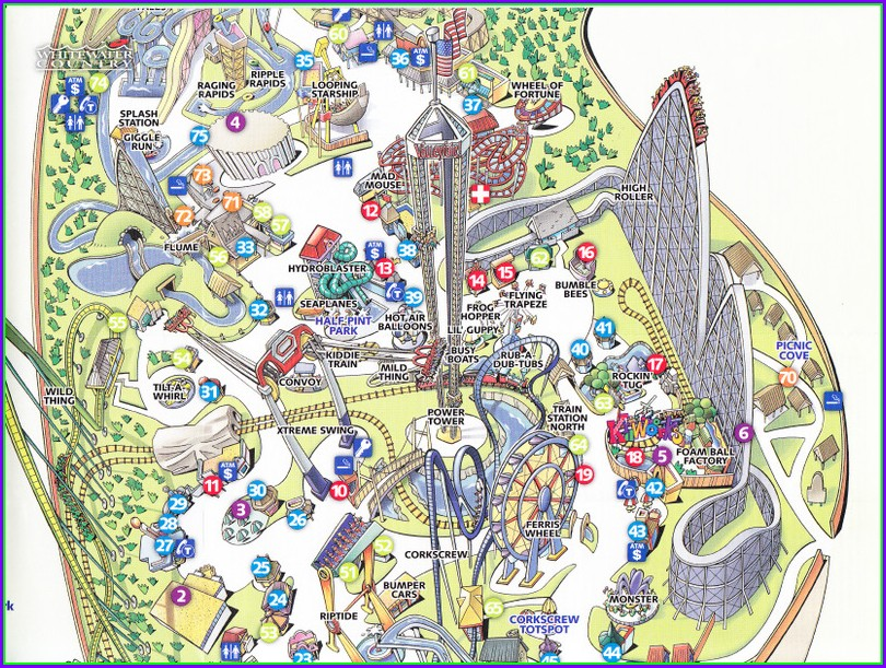 Westfield Valley Fair Map