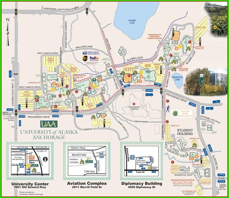 Whatcom Community College Map