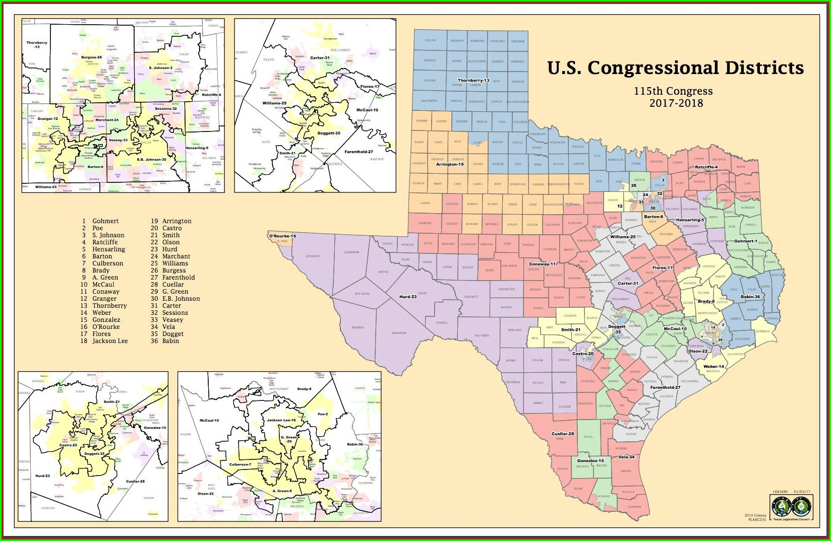 Will Hurd Congressional District Map