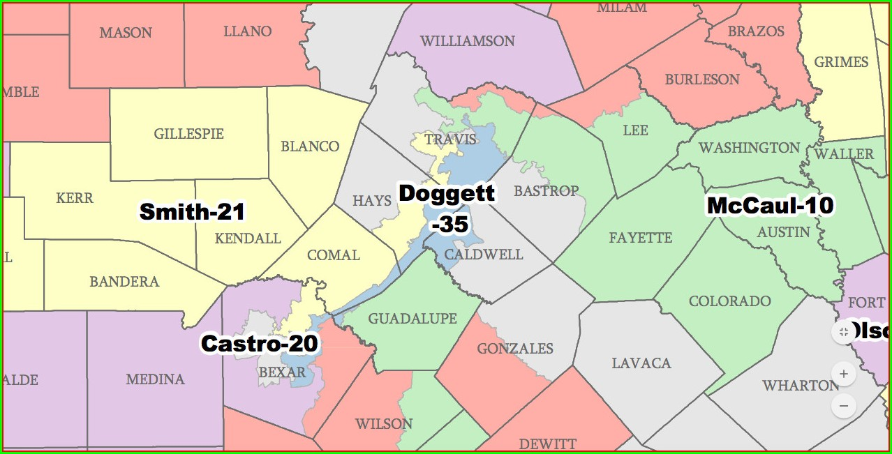 Will Hurd Texas District Map