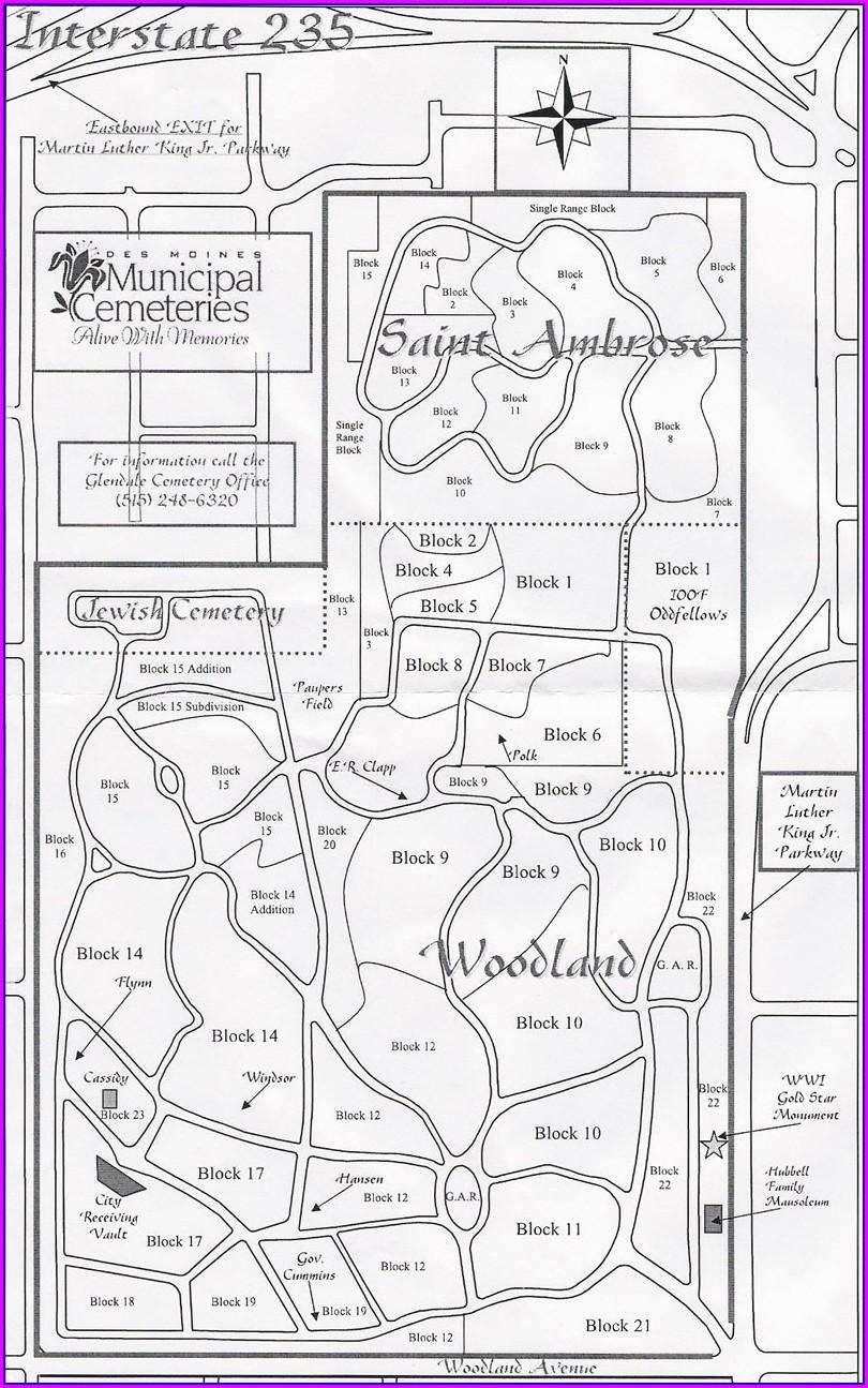 Woodlawn Cemetery Bronx Map